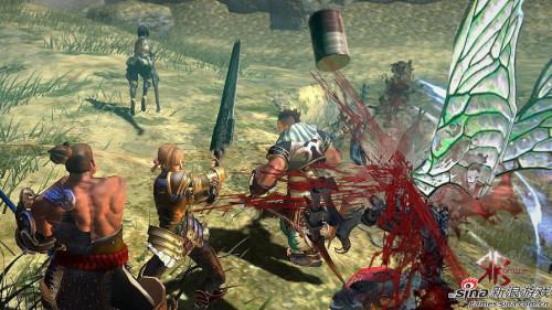 《赤红血OL》游戏画面