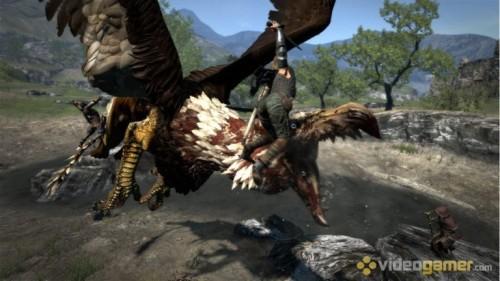 《龙之信条》最新游戏画面欣赏