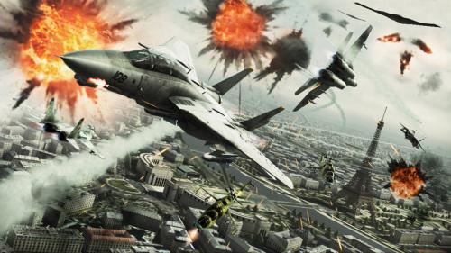 《皇牌空战7:突击地平线》海量游戏截图欣赏