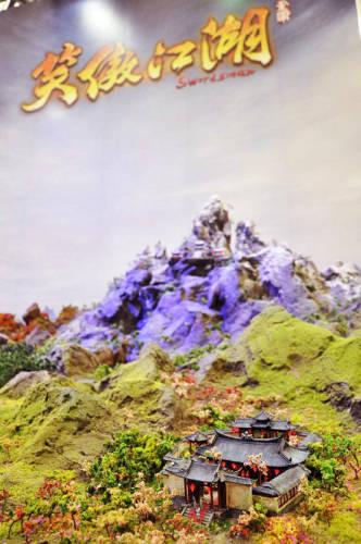 图4:你能想象这只是全景江湖模型的四分之一吗