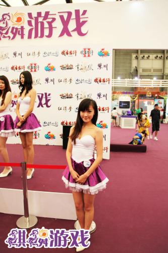 (大图)图7:麒麟展台美女showgirl