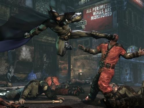 蝙蝠侠:阿甘之城新图