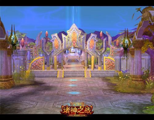 图1 天使旧城神圣庭院
