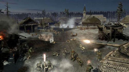 GC12:《英雄连2》最新截图公布 坦克对轰