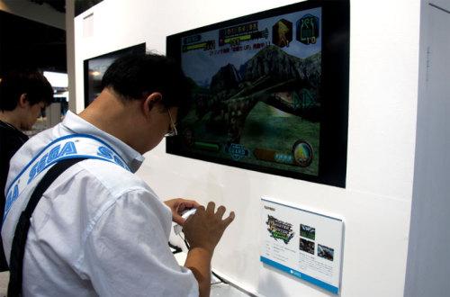 怪物猎人手机版现场提供试玩