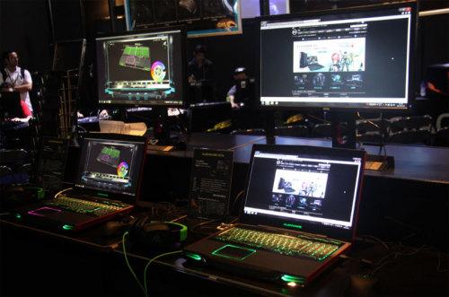 AlienWare:最强笔记本震撼全场