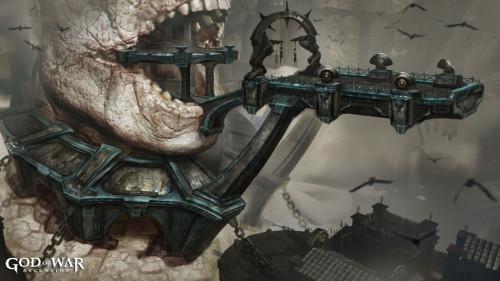 PS3《战神:升天》最新游戏原画