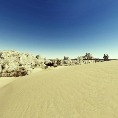 《雷霆归来:最终幻想13》最新截图现沙漠风情