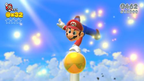 《超级马里奥世界3D》首批游戏截图