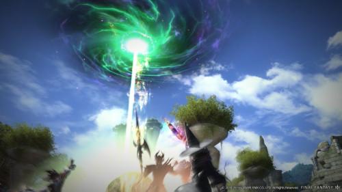 《最终幻想14》最新游戏画面