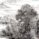 云岭湖山疏雨