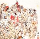 印度印象之十四 39cmx39cm 2004-2005年 纪连彬