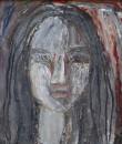 1989年 《吃喜酒习作之3》油画 18x23cm