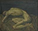 1988年 《男人体之一》油画 97x117cm