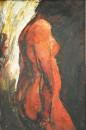 1987年《人体》 油画  30cm × 46cm