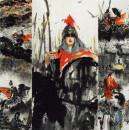 以下作品选自近现代名家画家(傅小石大红袍)