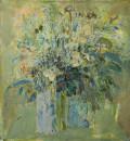 《印象-春》油画1995年 高53cm  宽45cm