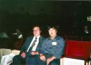 作者在东京与日本著名书法史学者杉村邦彦合影