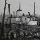 中国渔政4号90x120cm 2013年布面油画