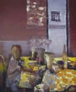 早茶120x90cm 2013年布面油画