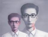 张晓刚作品赏析:《血缘大家庭-同志系列》