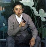 靳尚谊油画:黄永玉