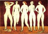 常玉作品《女人体》