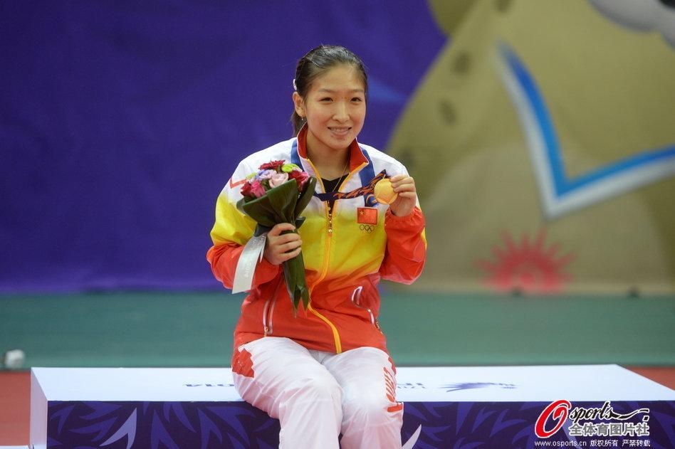 亚运会中国军团4日金牌汇总