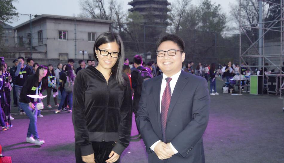 北大体育之夜蒋川出席