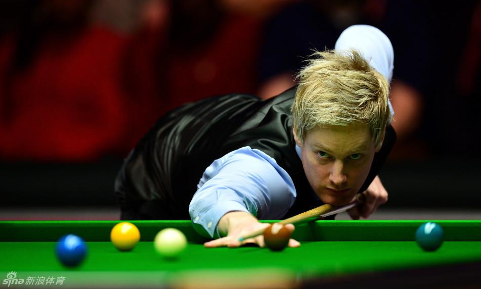 北京时间1月15日晚,2016年斯诺克大师赛1/4决赛在伦敦继续进行.