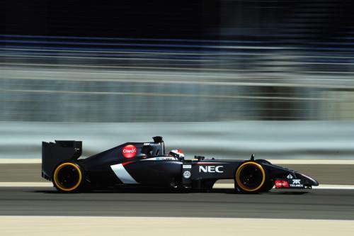 图文-F1巴林试车第八日 苏蒂尔驾驶索伯