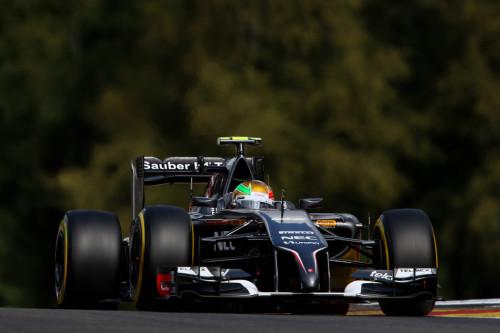 图文-F1比利时站周六练习 索伯车队古铁雷兹