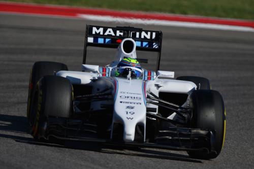 图文-F1美国站第3次练习 威廉姆斯车队马萨