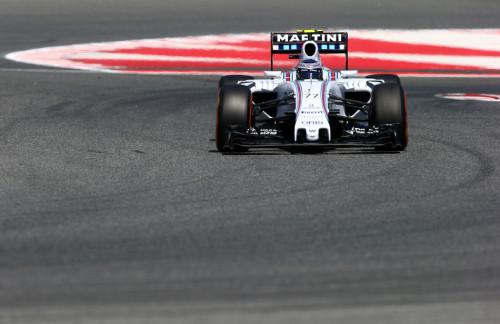 图文-F1西班牙站第3次练习 威廉姆斯车队博塔斯