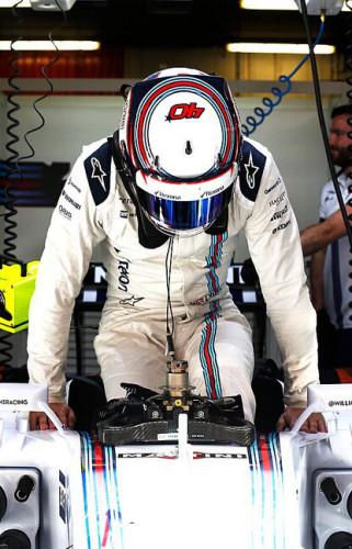 图文-F1巴塞罗那试车 威廉姆斯车队林恩