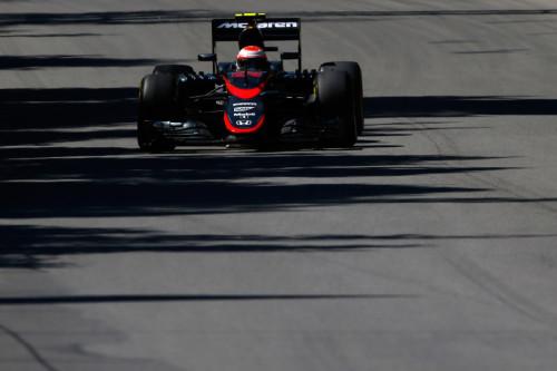 图文-F1加拿大站排位赛 迈凯轮车队巴顿