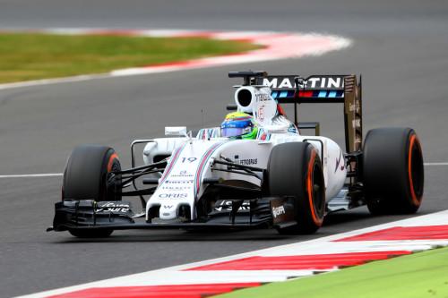 图文-F1英国站排位赛 威廉姆斯车队马萨