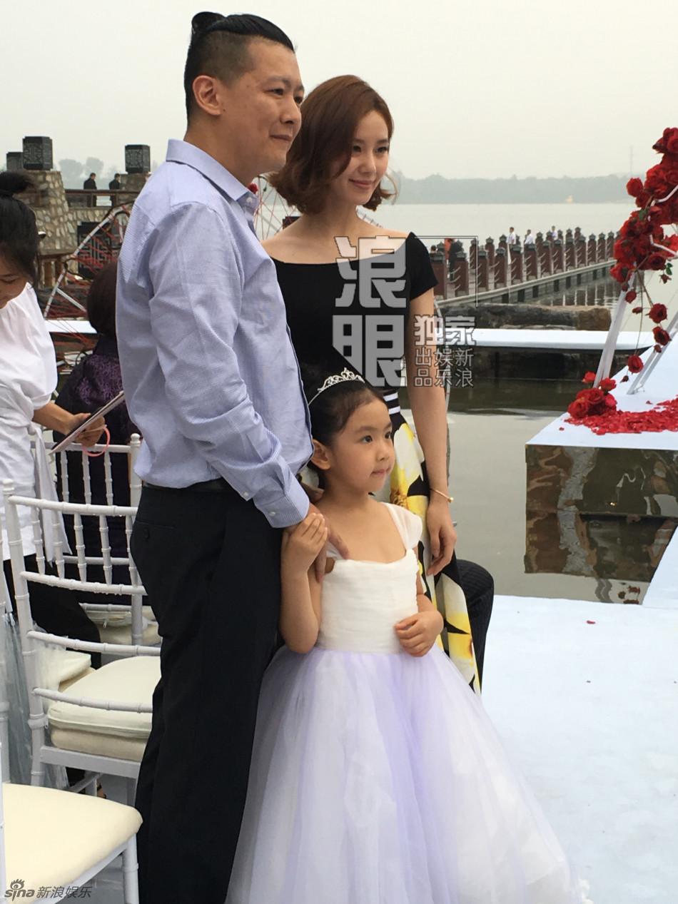 刘诗诗出席双陈婚礼