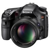 索尼α77 相机外观