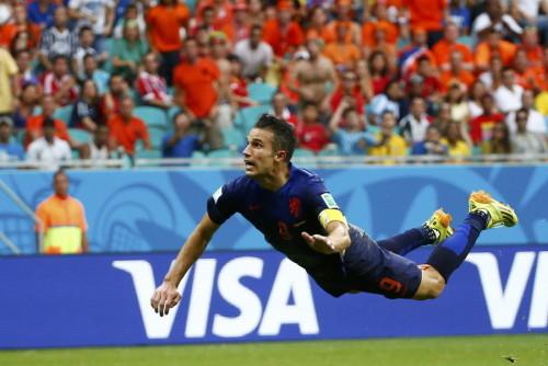 高清图-[B组首轮]西班牙1-5荷兰
