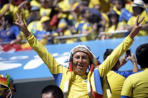 高清图-新浪直击瑞士厄瓜多尔球迷