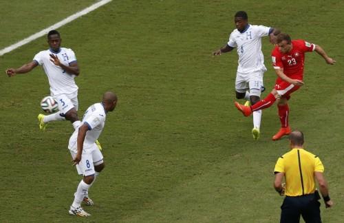 [E组末轮]瑞士3-0洪都拉斯