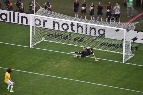 点球大战巴西3-2淘汰智利