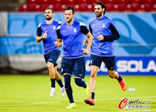 希腊积极备战淘汰赛