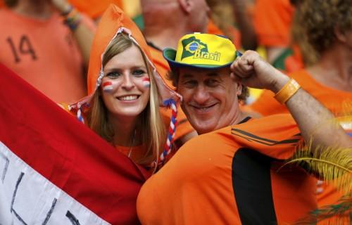 荷兰哥斯达黎加球迷集锦
