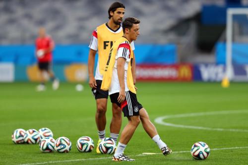高清图-德国训练备战半决赛