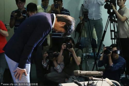 韩国队主帅洪明甫正式宣布辞职