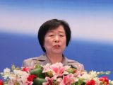 全国人大常委财经委副主任委员吴晓灵演讲
