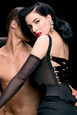 脱衣舞娘万提斯登《男人装》封面