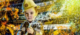 酷炫到极致的定制儿童写真